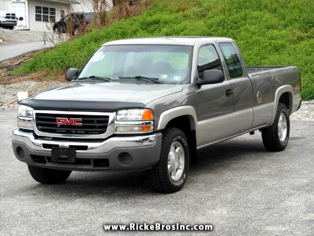 2006 GMC Sierra 1500 SL Ext. Cab Long Bed 4WD