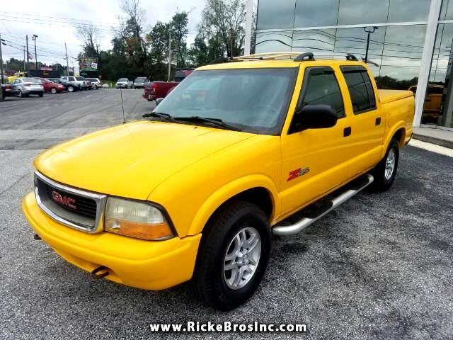 2003 GMC Sonoma SLS Crew Cab 4WD