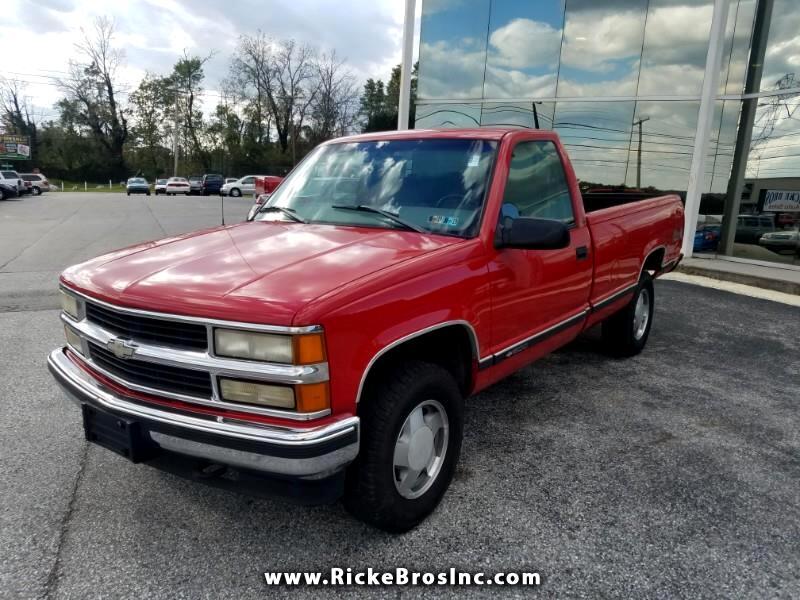 1998 Chevrolet C/K 1500 Reg. Cab W/T 8-ft. Bed 4WD