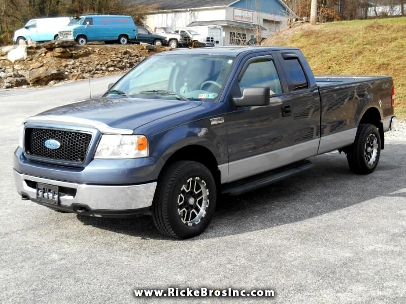 2006 Ford F-150 XLT SuperCab Long Bed 4WD