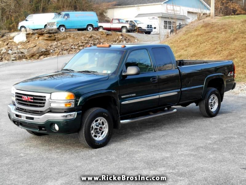 2006 GMC Sierra 2500HD SLE1 Ext. Cab Long Bed 4WD