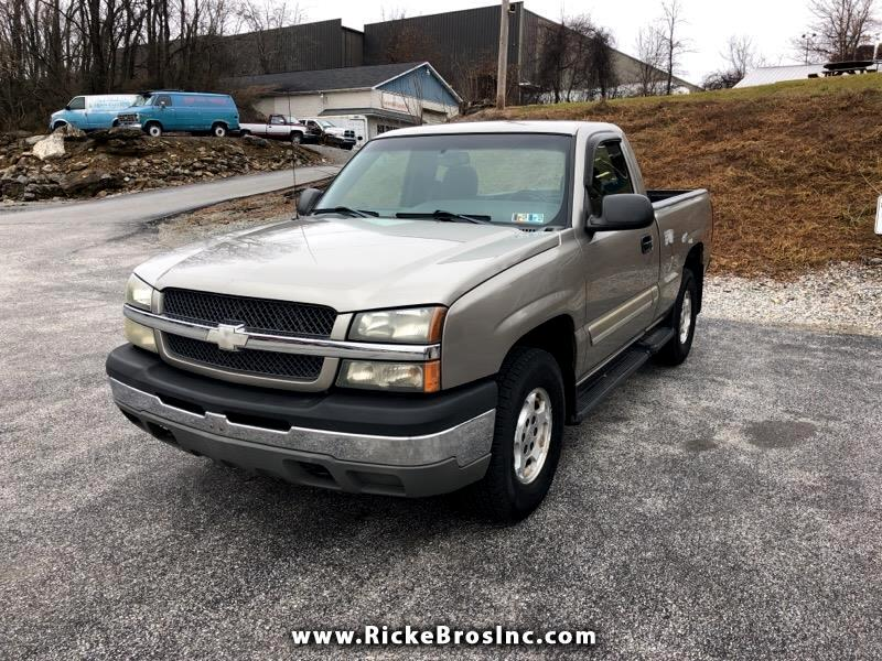2003 Chevrolet Silverado 1500 Z71 Short Bed 4WD