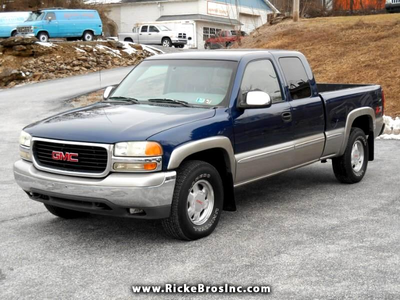 2000 GMC Sierra 1500 SLE Ext. Cab Short Bed 4WD