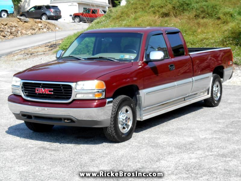 2002 GMC Sierra 1500 SLE Ext. Cab Long Bed 4WD