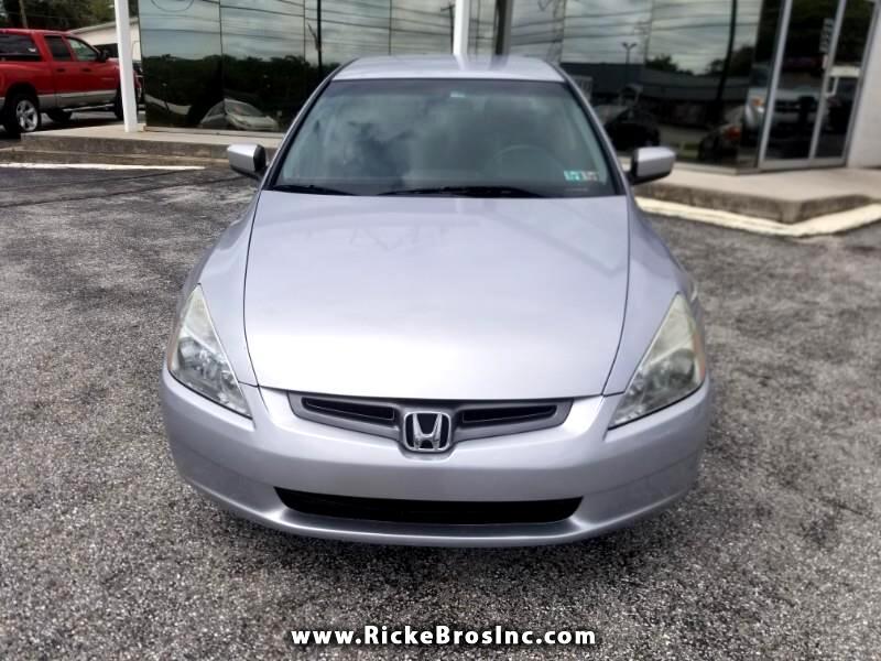 Honda Accord LX sedan AT 2004