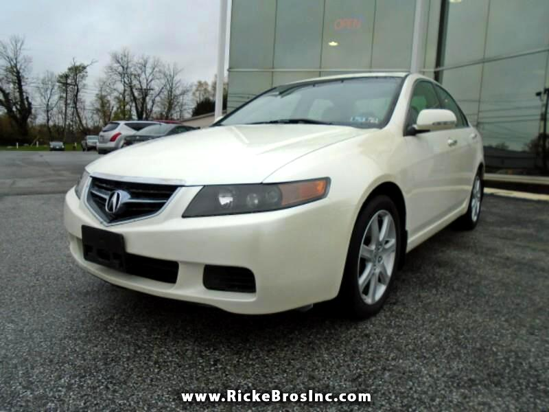 Acura TSX 5-speed AT 2004