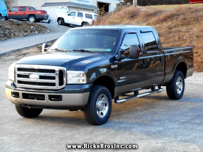 Ford F-250 SD XLT Crew Cab Short Bed 4WD 2007