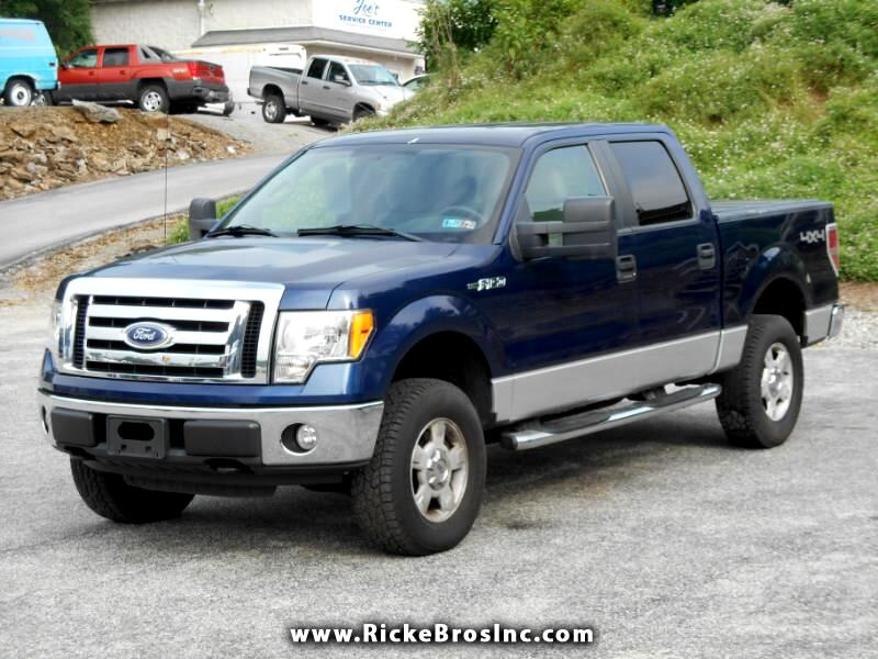 Ford F-150 XLT SuperCrew 5.5-ft. Bed 4WD 2010