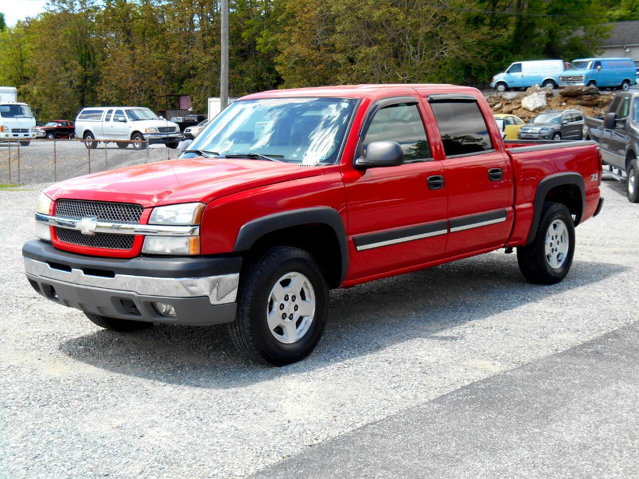 """Chevrolet Silverado 1500 Crew Cab Crew Cab 143.5"""" WB 4WD Z71 2004"""
