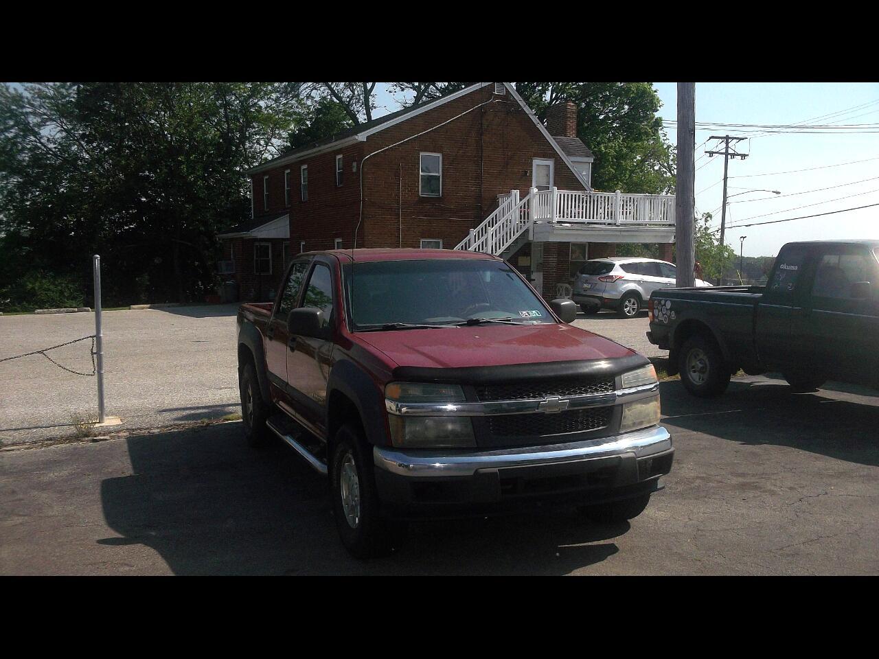 """Chevrolet Colorado Crew Cab 126.0"""" WB 4WD 1SE LS Z71 2004"""