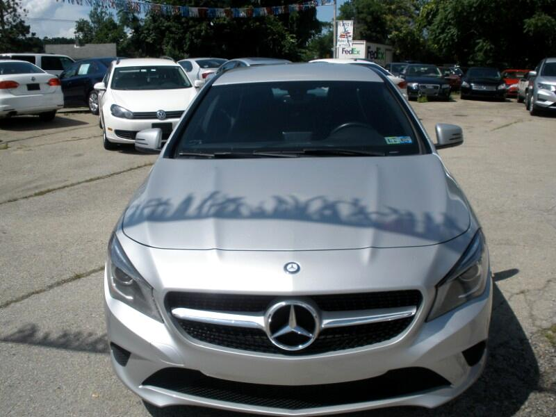 Mercedes-Benz CLA-Class CLA250 4MATIC 2014