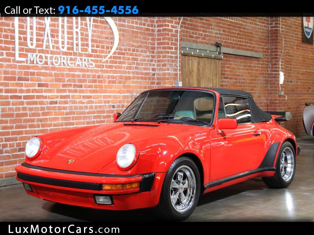1987 Porsche 911 Cabriolet Turbo Look