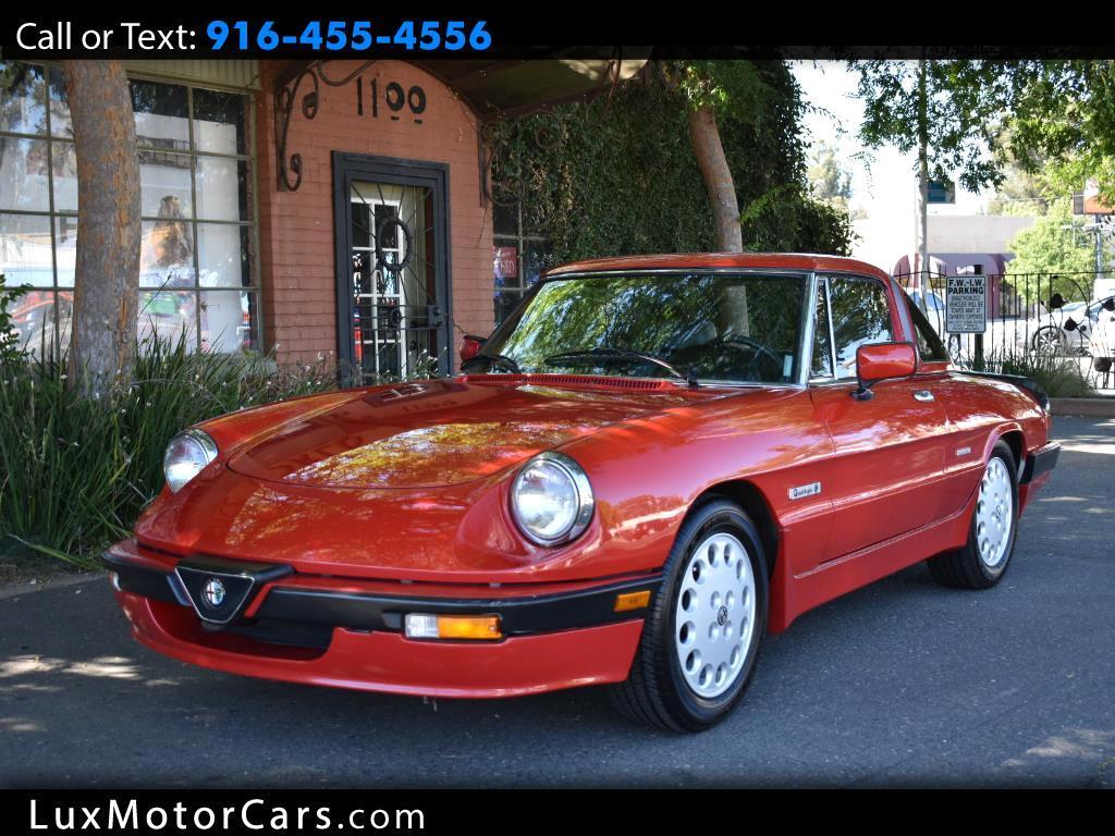 1987 Alfa Romeo Spider Quadfrigolio