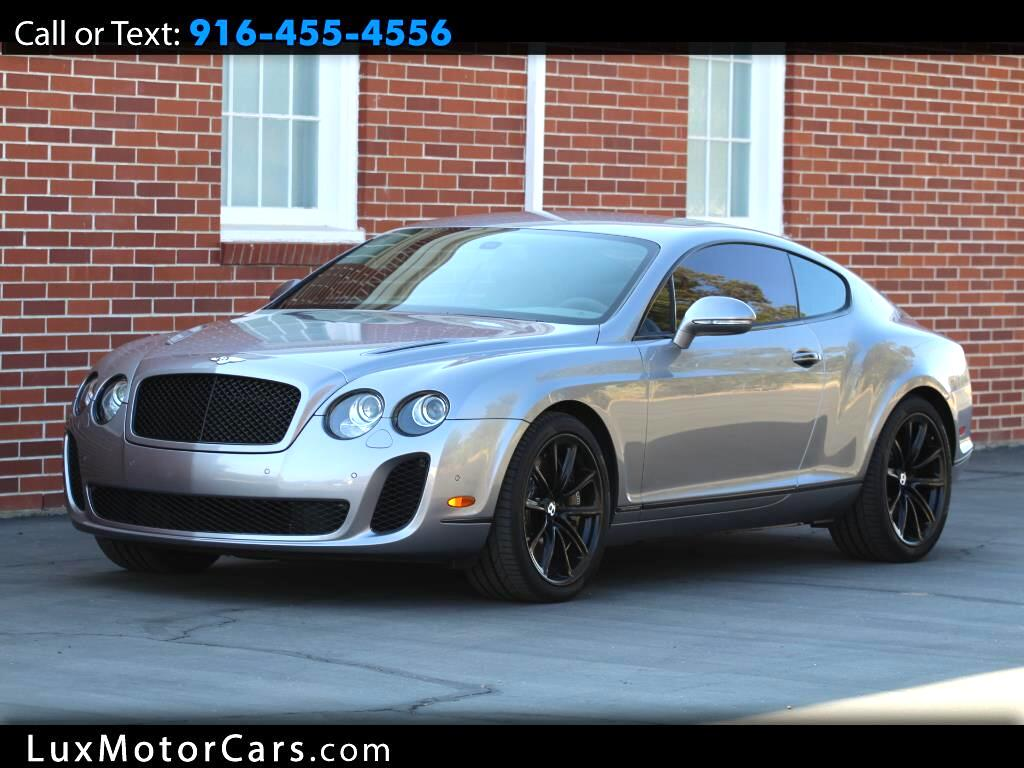 2010 Bentley Continental Supersports 2dr Cpe Supersports