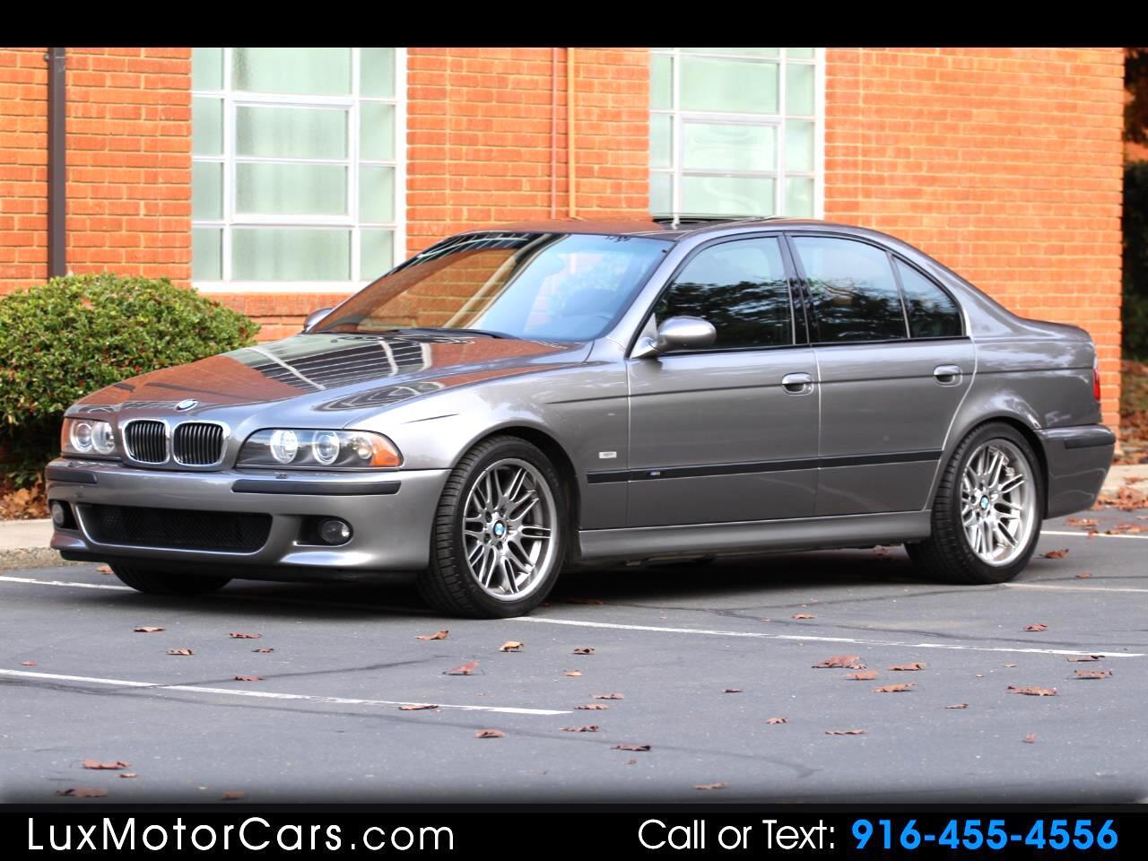 2002 BMW M5 4dr Sdn
