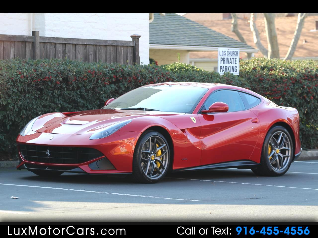 2015 Ferrari F12 Berlinetta Coupe
