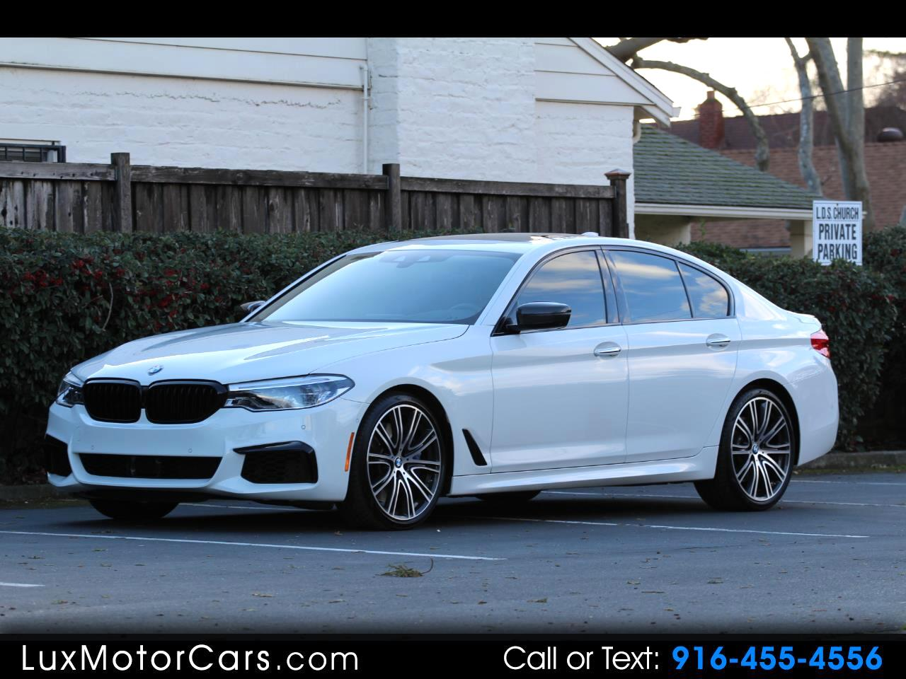 2018 BMW 5-Series M550i xDrive