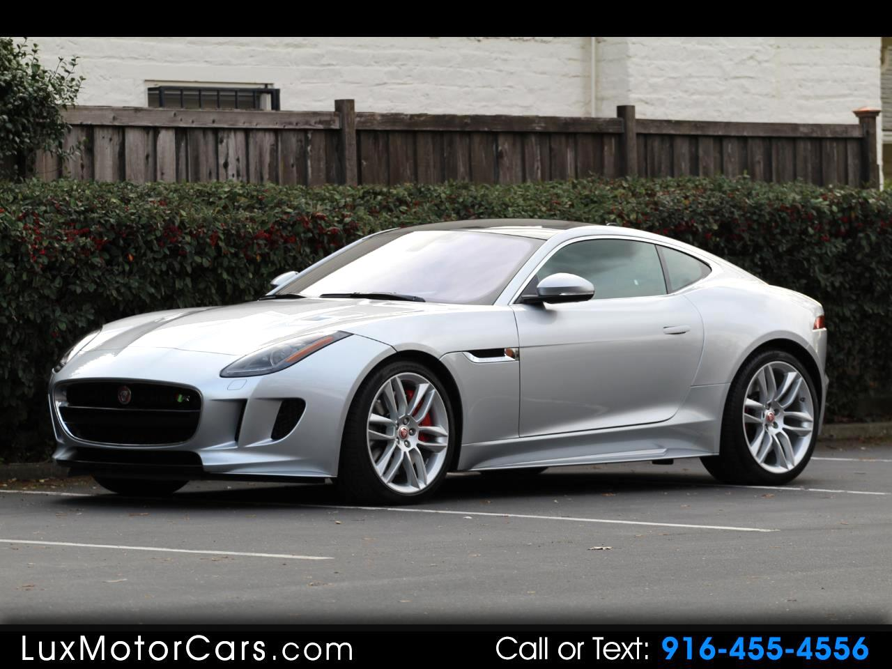 2017 Jaguar F-Type R Coupe AWD