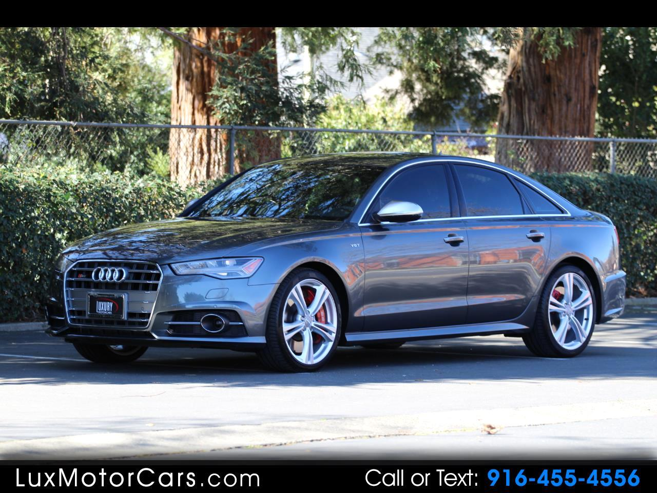 2018 Audi S6 4dr Sdn