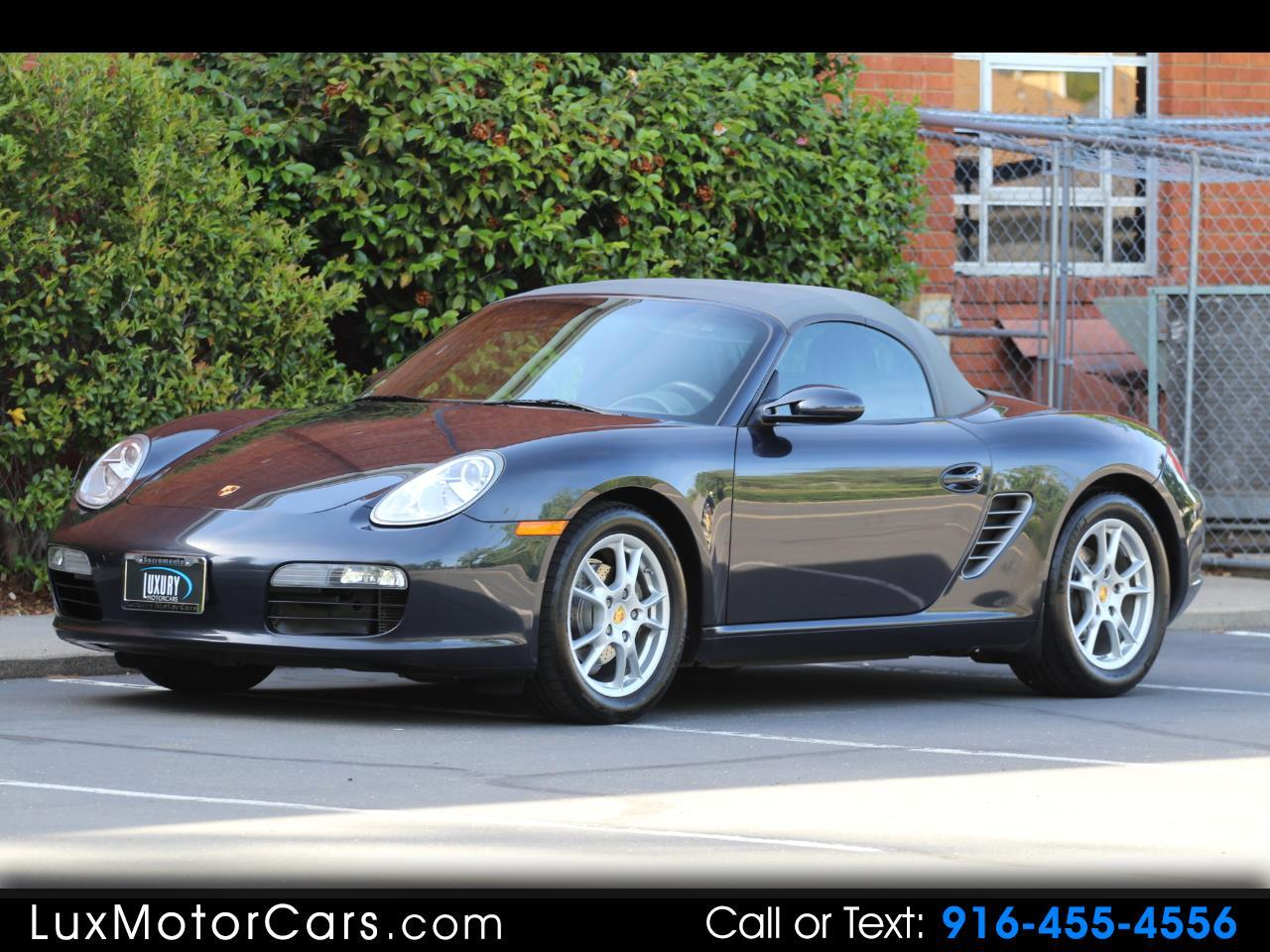 2007 Porsche Boxster 2dr Roadster 5-Spd Manual