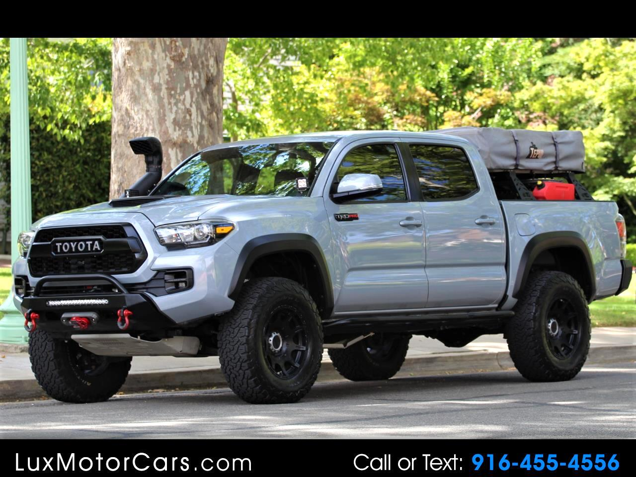 2017 Toyota Tacoma 4WD Double Cab V6 AT TRD Pro (Natl)