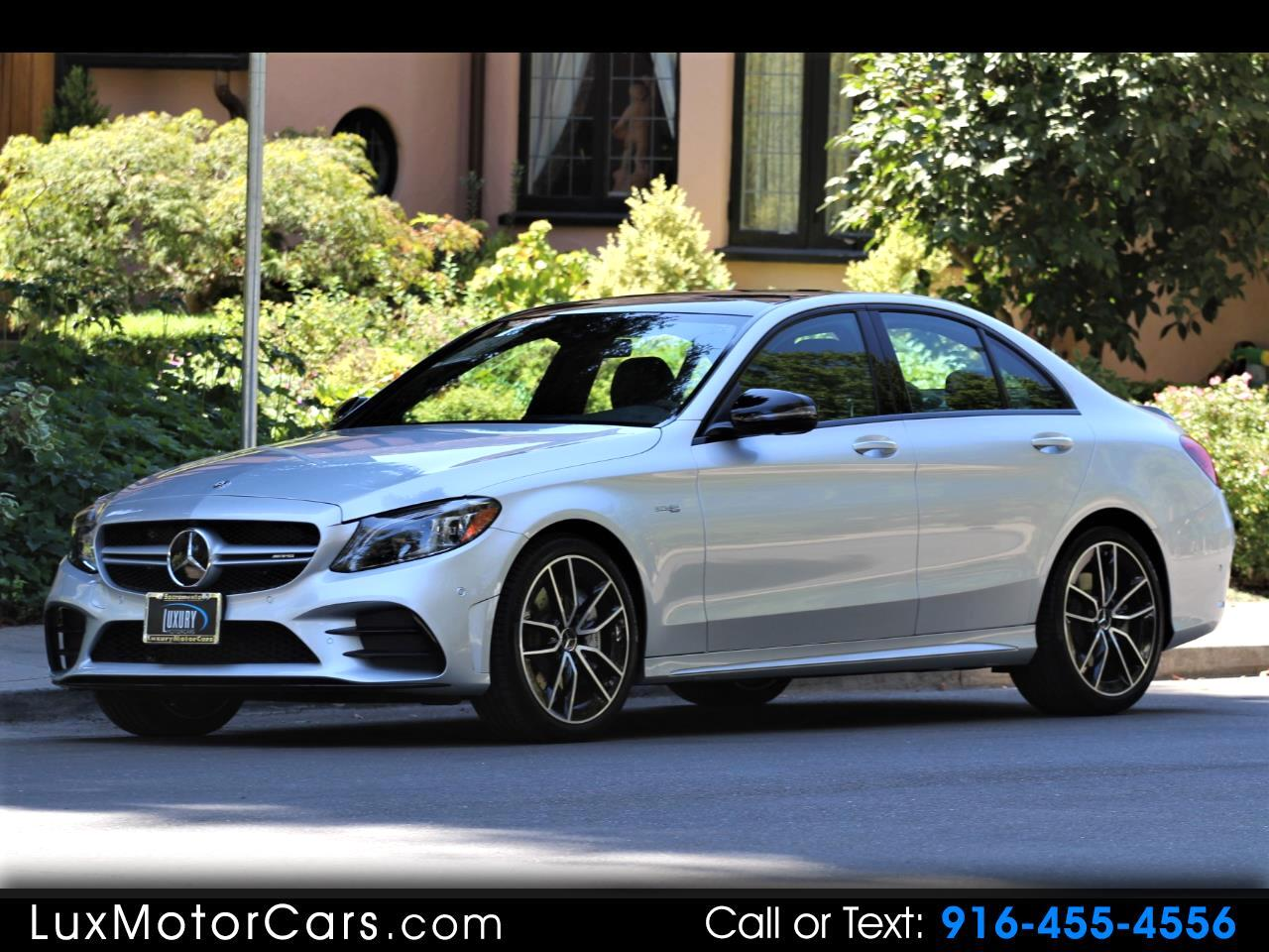 2019 Mercedes-Benz C-Class AMG C43 Sedan