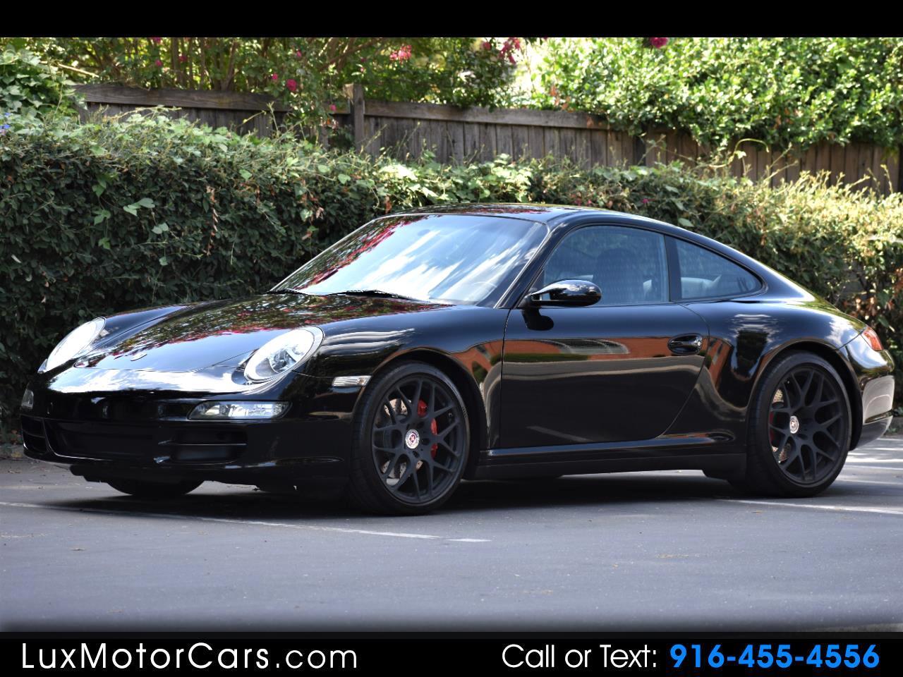 2008 Porsche 911 Carrera 4S Coupe