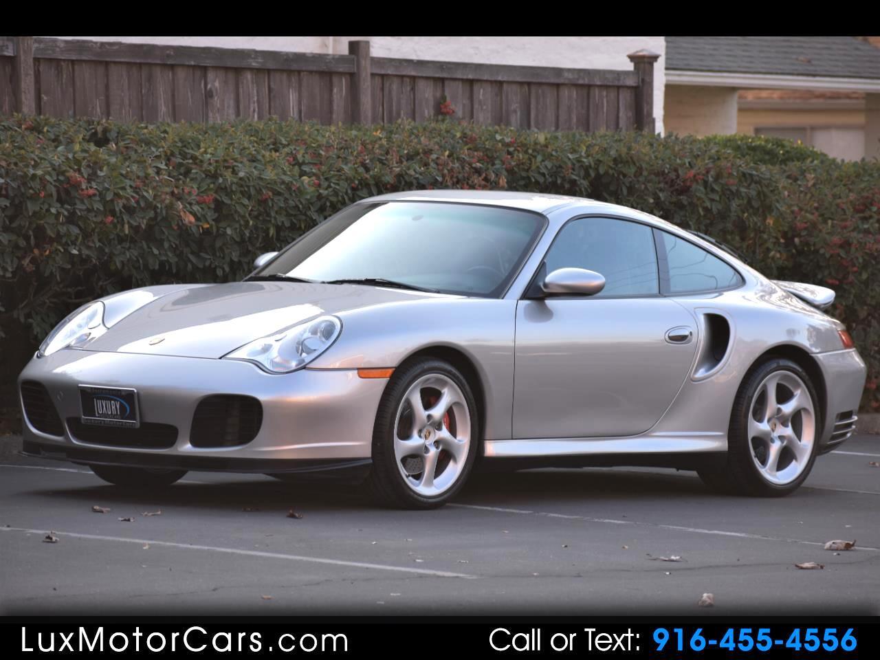 2002 Porsche 911 2dr Cpe Turbo