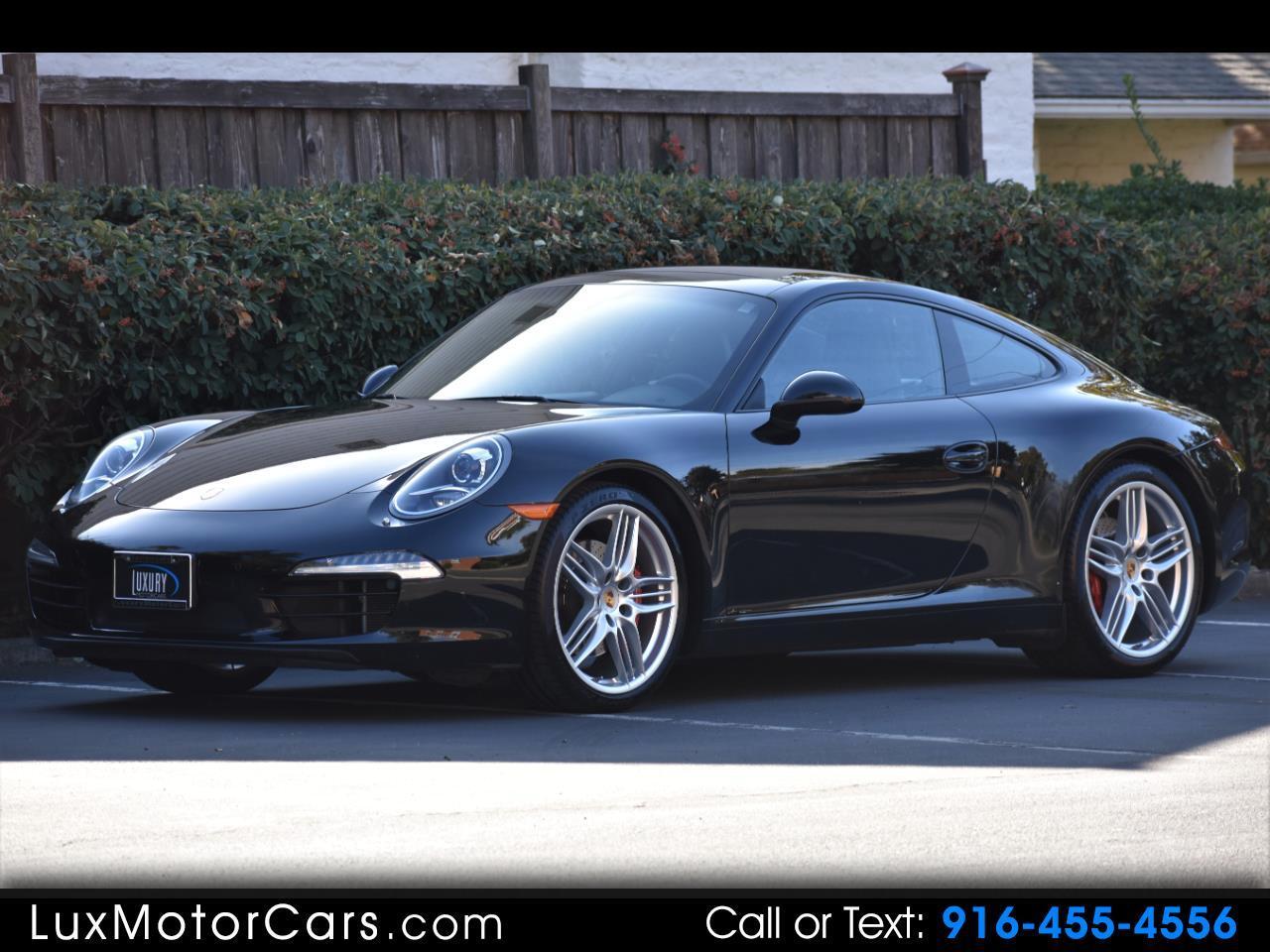 2013 Porsche 911 Carrera S Coupe