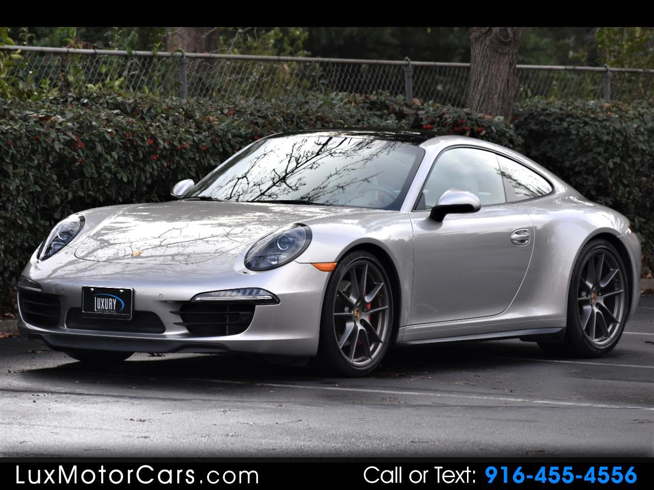 2013 Porsche 911 Carrera 4S Coupe
