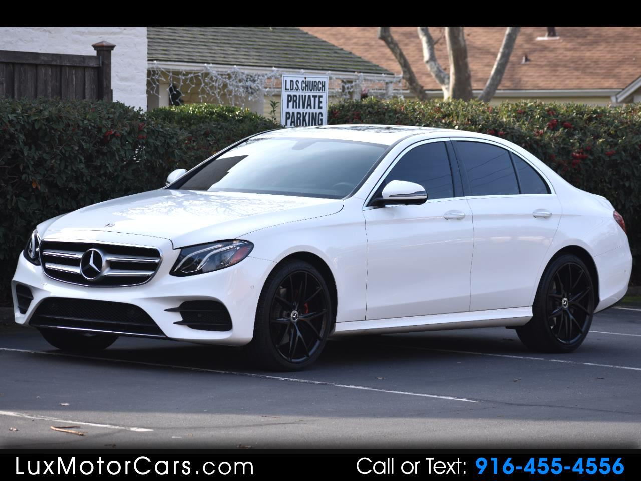 Mercedes-Benz E-Class E300 Luxury 4MATIC Sedan 2019