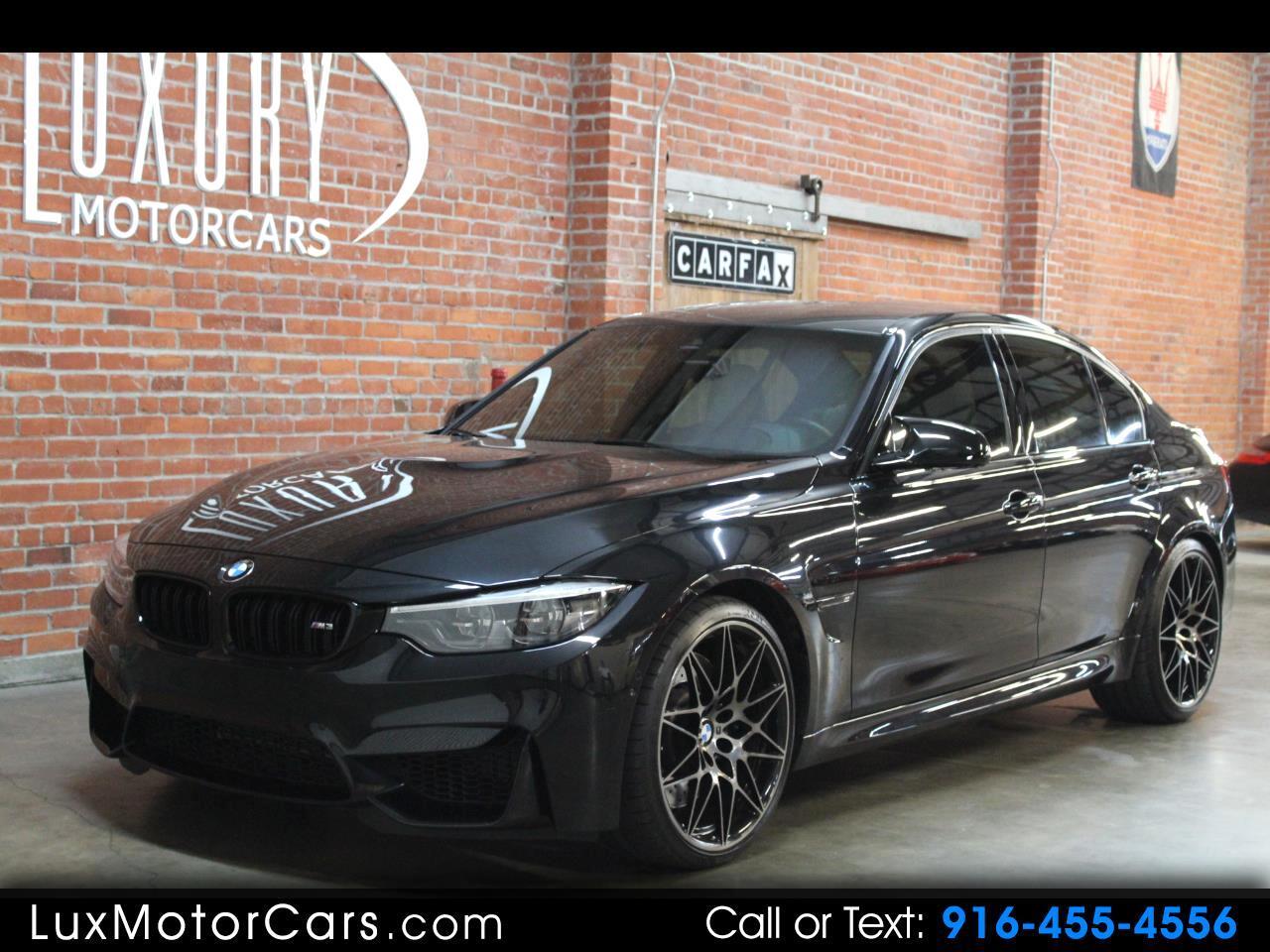 BMW M3 4dr Sdn 2018