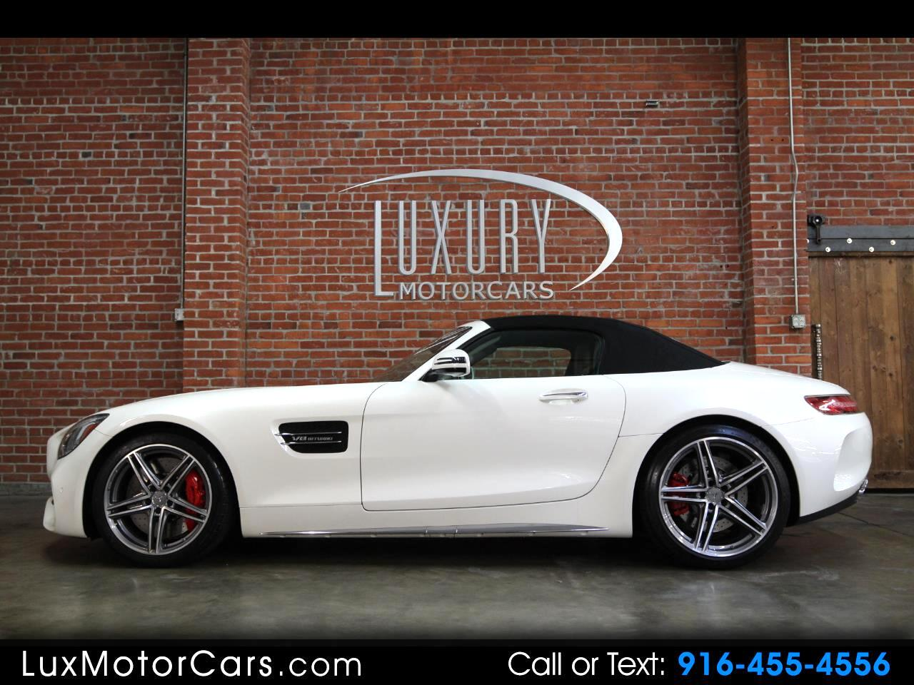 Used 2018 Mercedes Benz Amg Gt C Cabrio For Sale In Sacramento Ca 95819 Luxury Motorcars Llc