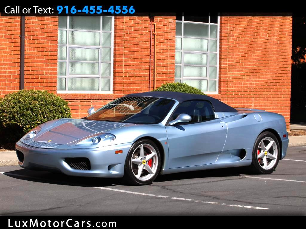 2003 Ferrari 360 Modena Spider 6 Speed Gated Shifter
