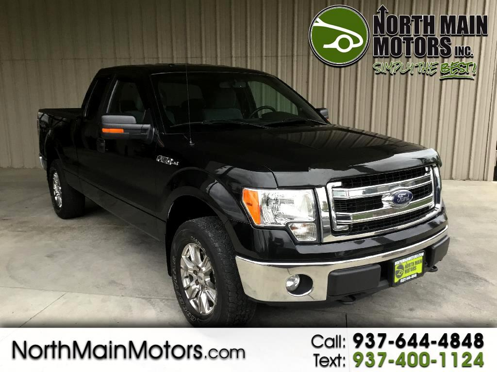 "2014 Ford F-150 Supercab 157"" 4WD XLT"