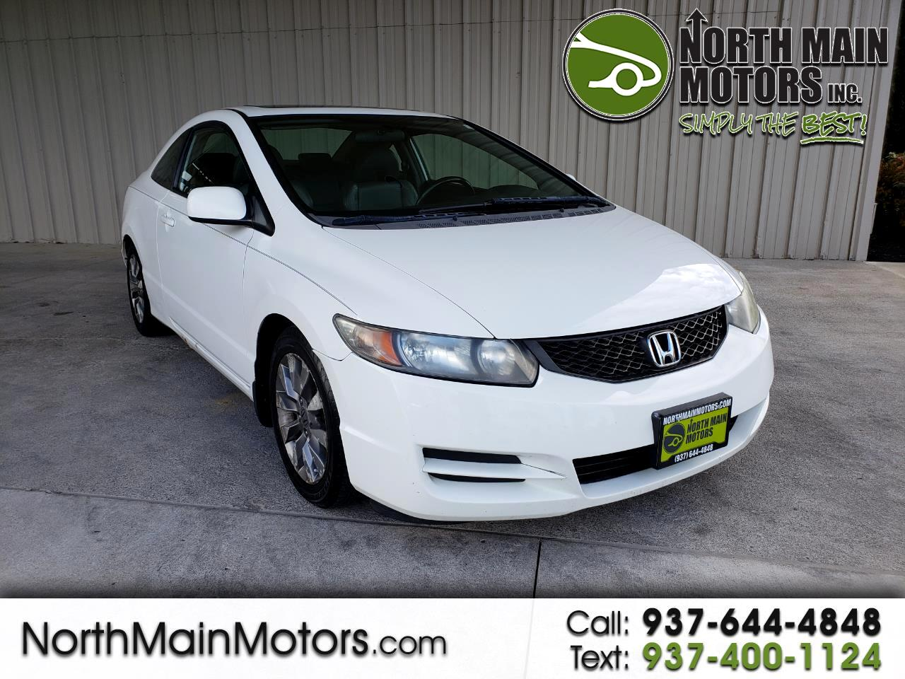 2009 Honda Civic Cpe 2dr Man EX-L