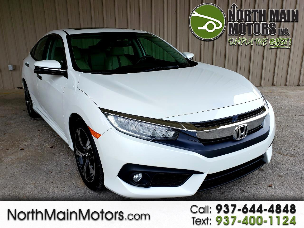 2016 Honda Civic Sedan 4dr CVT Touring