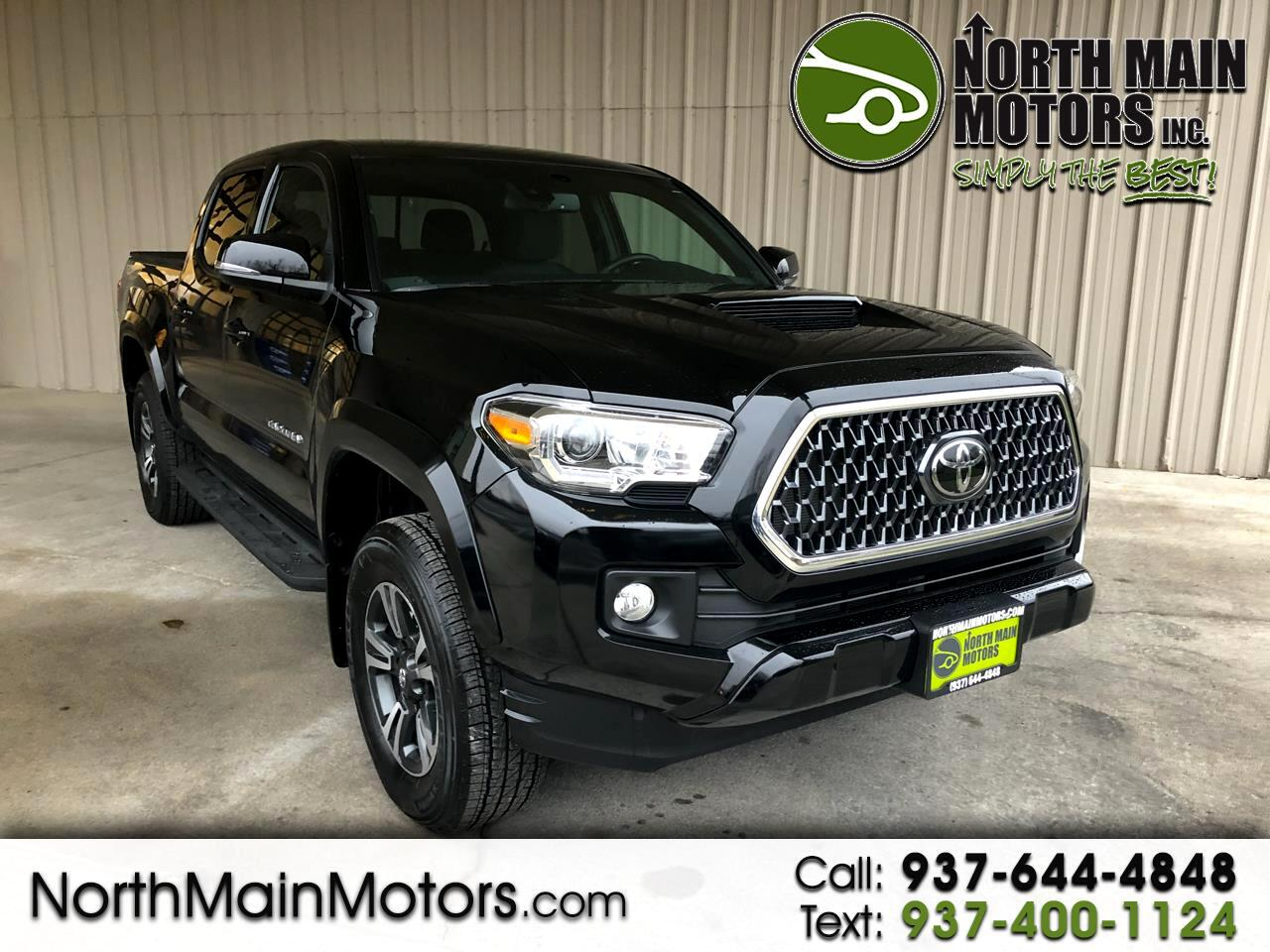 2018 Toyota Tacoma TRD Sport Double Cab 5' Bed V6 4x4 AT (Natl)