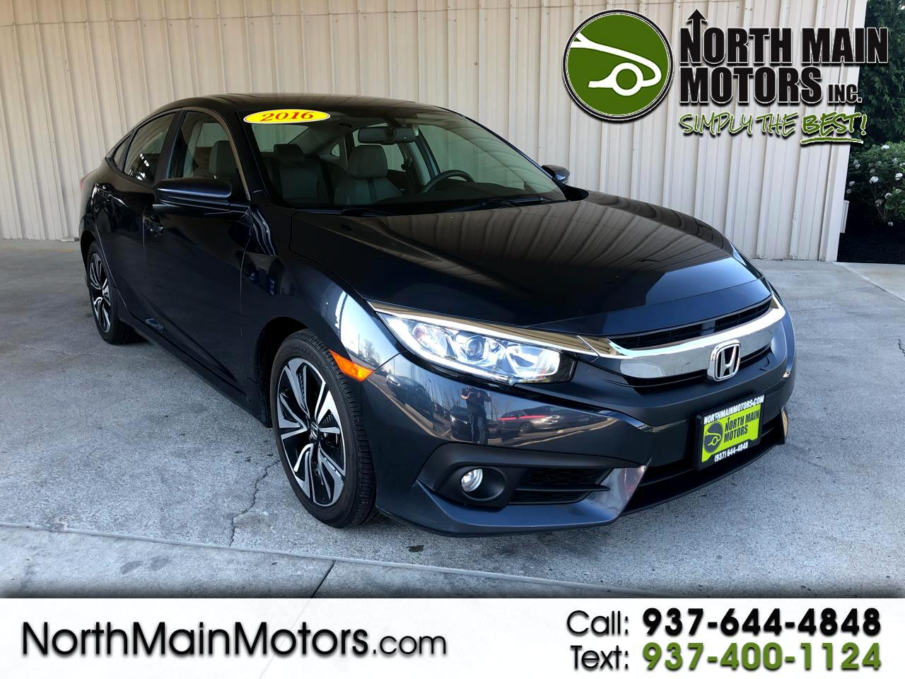 Honda Civic Sedan 4dr CVT EX-L 2016