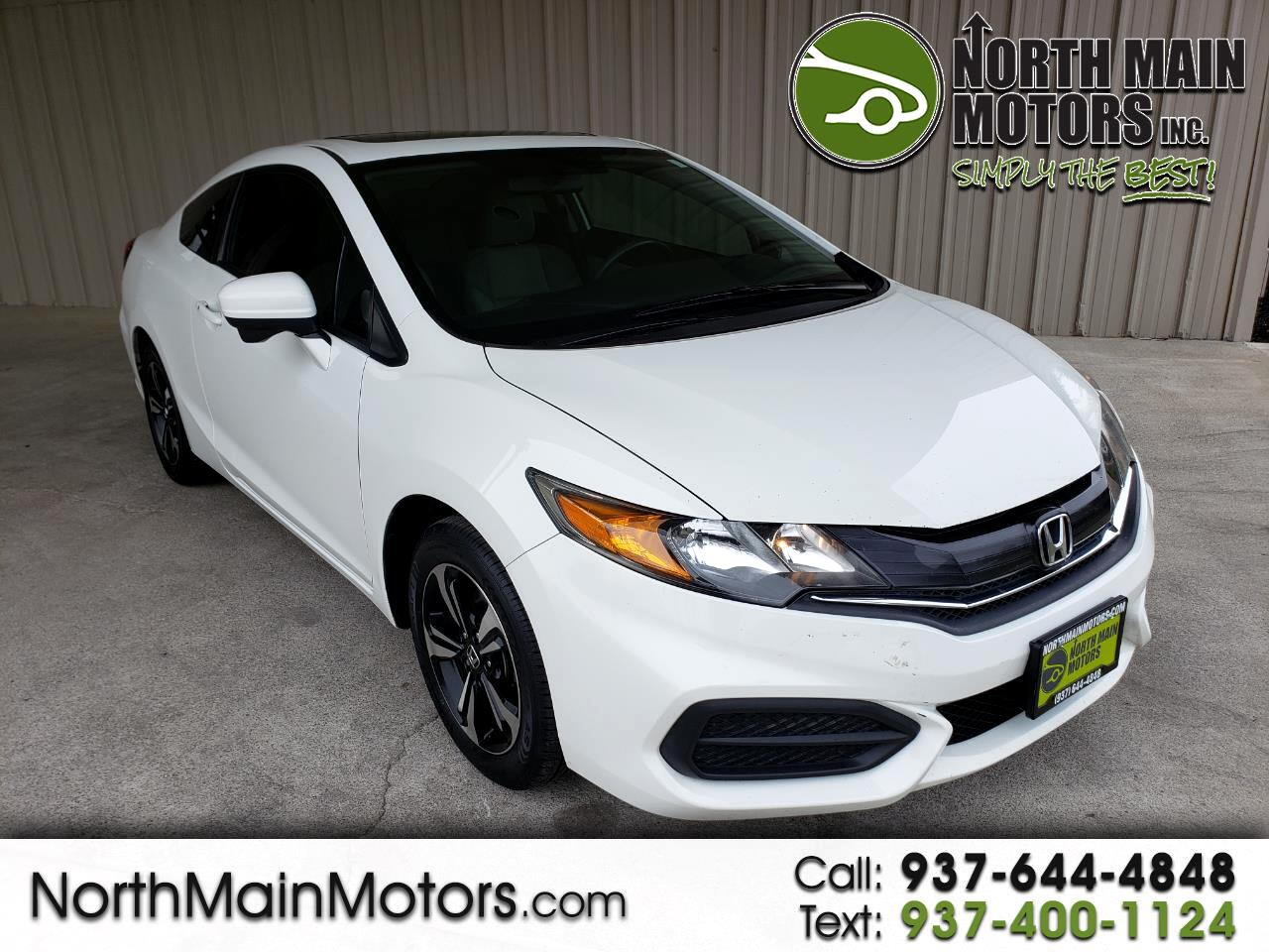 2014 Honda Civic Coupe 2dr CVT EX