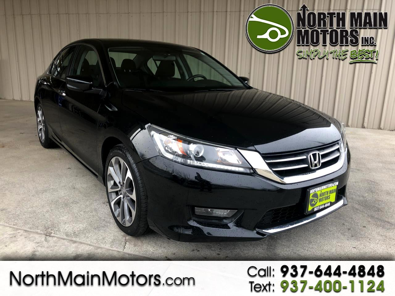 Honda Accord Sedan 4dr I4 CVT Sport 2015