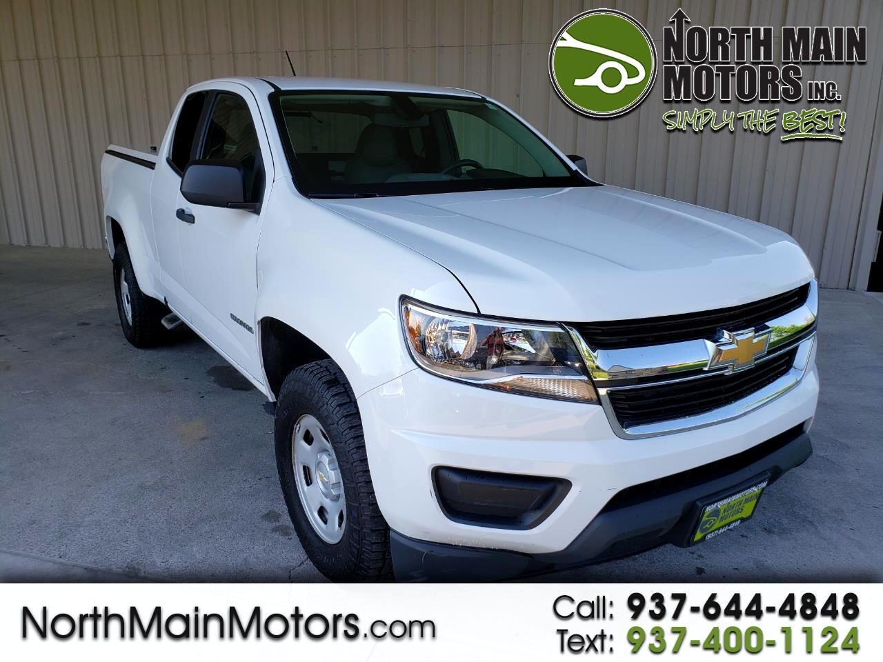 2016 Chevrolet Colorado 2WD Ext Cab 128.3