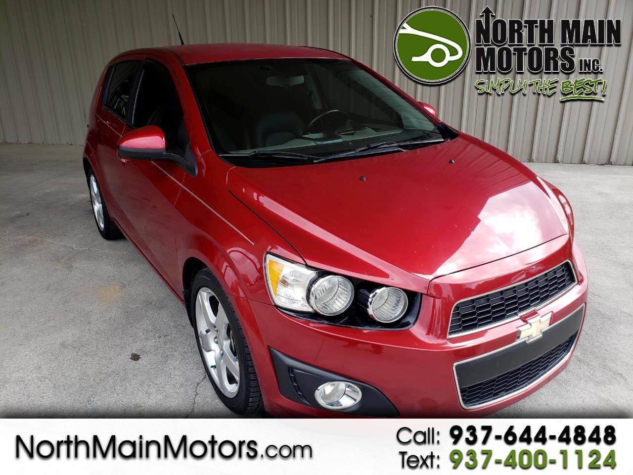 2013 Chevrolet Sonic 5dr HB Auto LTZ