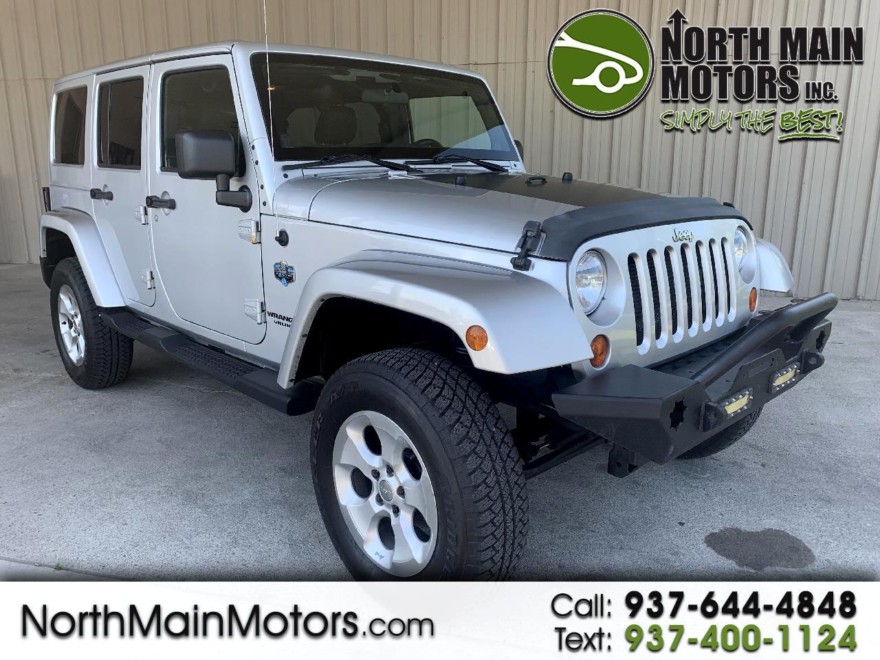 2012 Jeep Wrangler Unlimited 4WD 4dr Arctic *Ltd Avail*