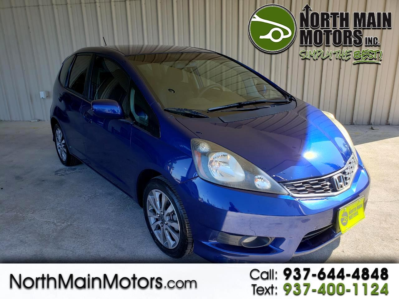 2012 Honda Fit 5dr HB Man Sport