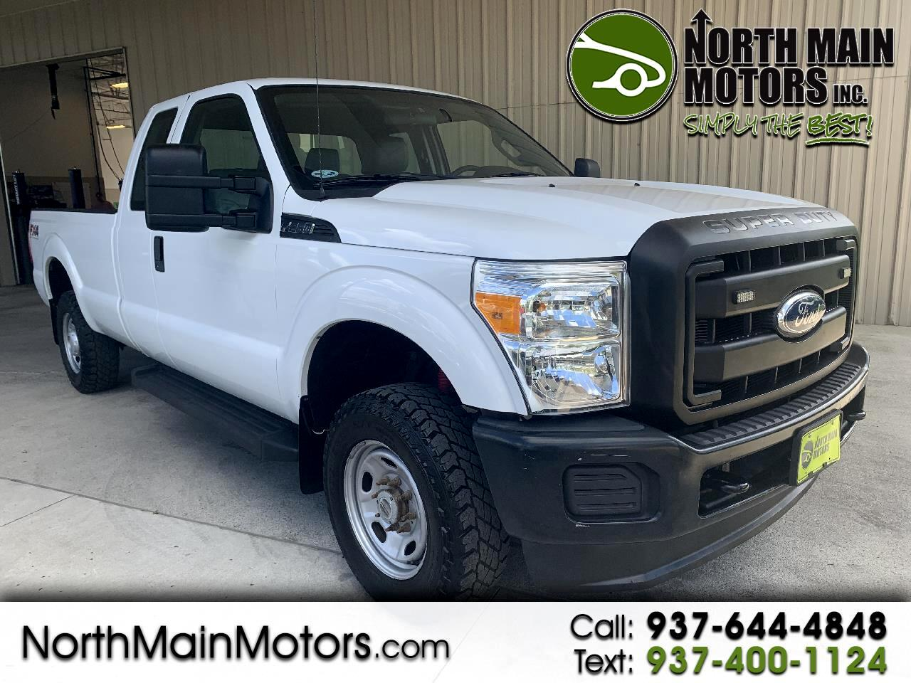 "2012 Ford Super Duty F-250 SRW 4WD SuperCab 142"" FX4"