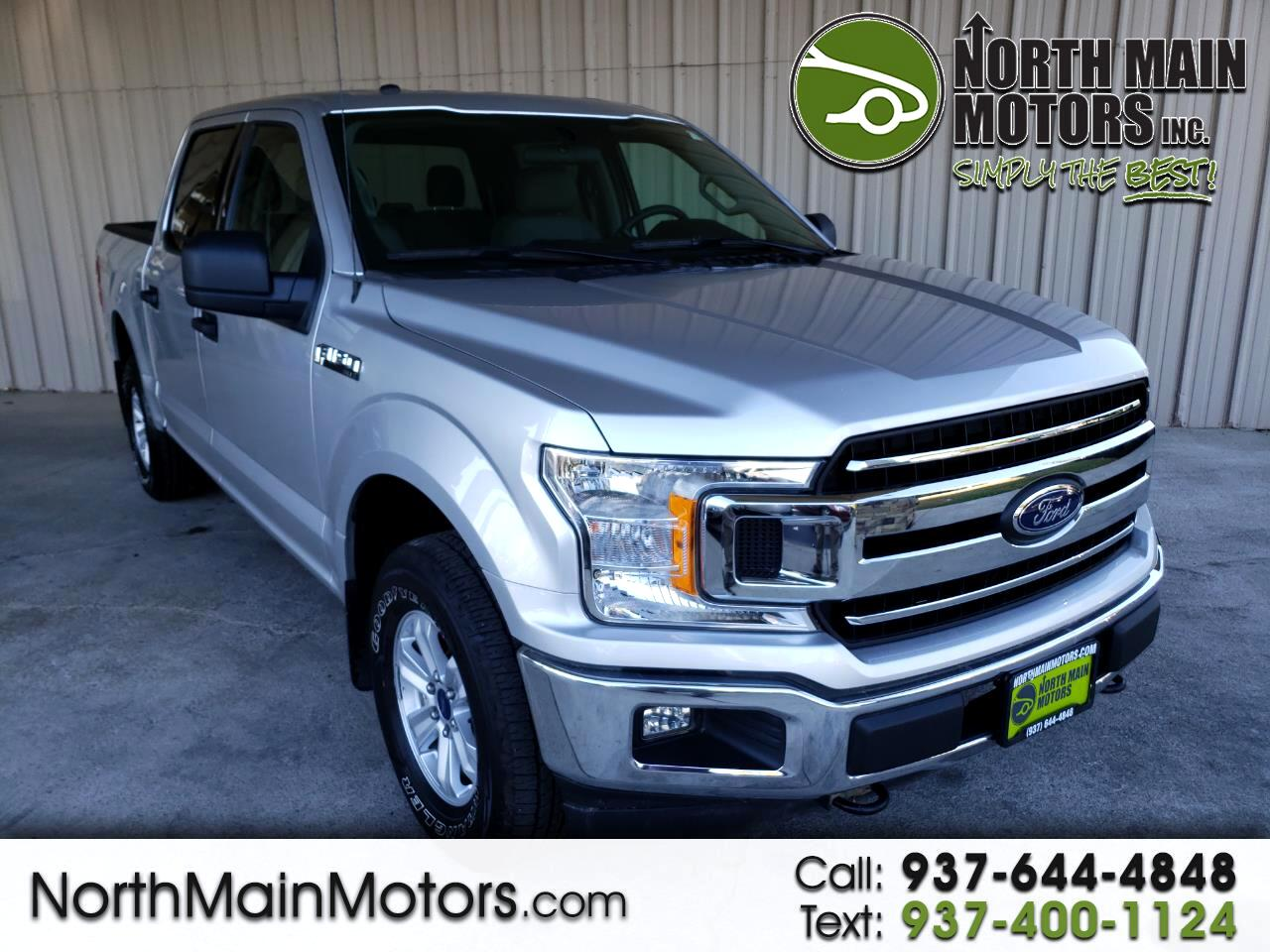 "Ford F-150 Supercab 133"" XLT 4WD 2018"