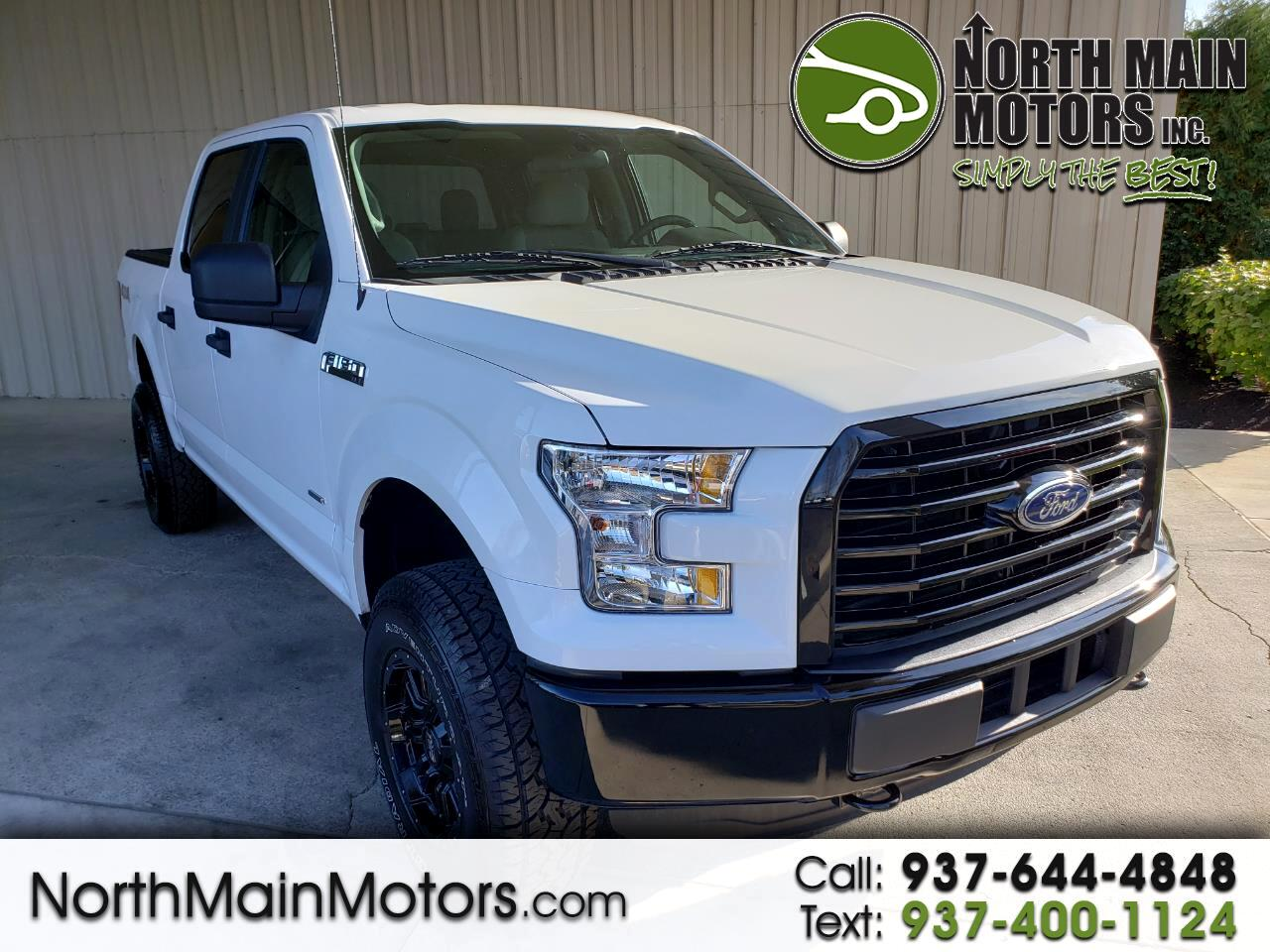 "Ford F-150 4WD SuperCrew 139"" XL 2015"