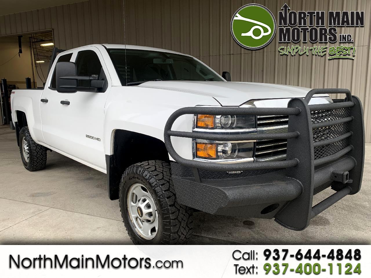 "Chevrolet Silverado 2500HD 4WD Double Cab 144.2"" Work Truck 2015"
