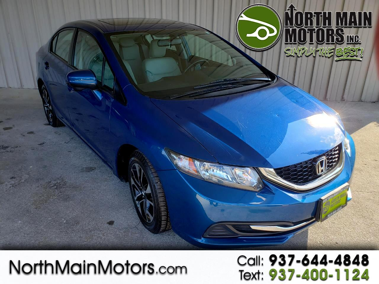 Honda Civic Sedan 4dr CVT EX 2015